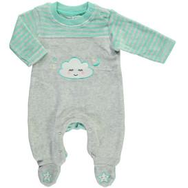 Baby Strampler mit Stickerei-Applikation