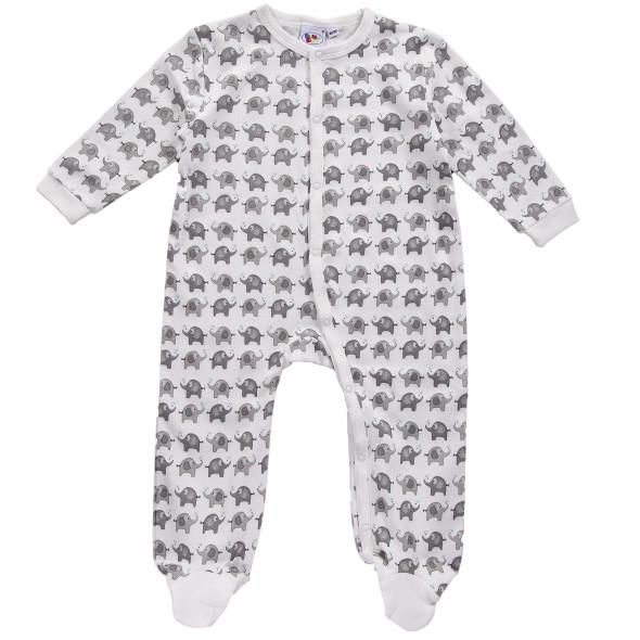 Baby Schlafanzug mit Fuß