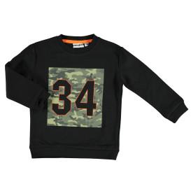 Jungen Sweatshirt mit Camouflage Print