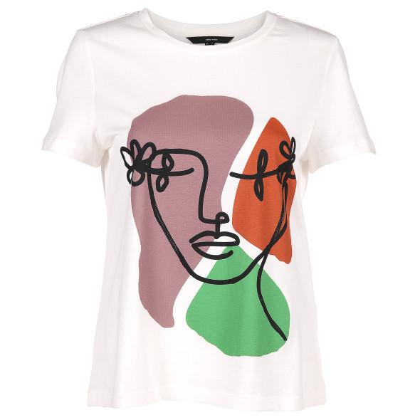 Vero Moda VMELDORAFRANCIS SS TO Shirt