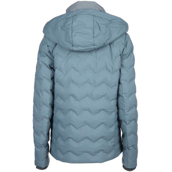 Damen Jacke mit Kapuze und doppeltem Einsatz