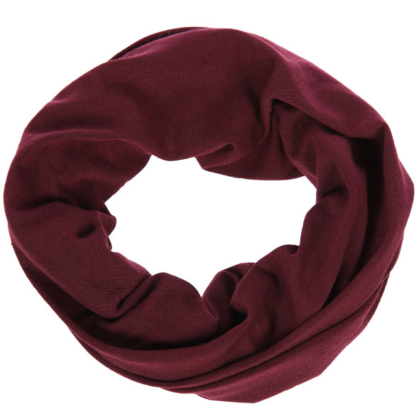 Damen Bandana Multifunktionstuch unifarben