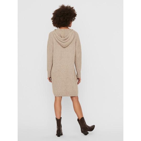 Vero Moda VMDOFFY LS HOOD DRESS Kleid