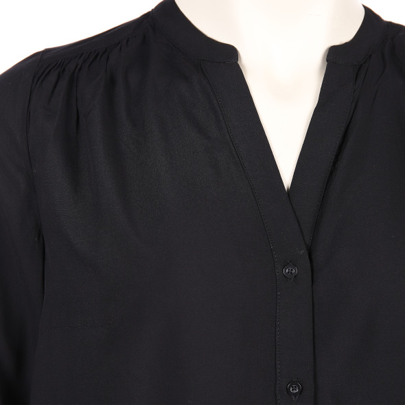 Only Carmakoma CARANITA LS SHIRT Bluse