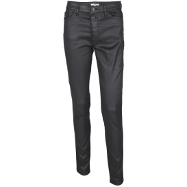 Damen Jeans in Skinny Form mit Glanzeffekt