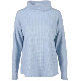 Damen Pullover mit halsfernem Rollkragen
