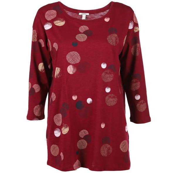 Damen Shirt mit 3/4 Ärmel
