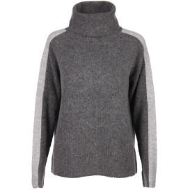 Damen Pullover mit Galonstreifen