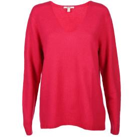 Damen Pullover mit V-Ausschnitt