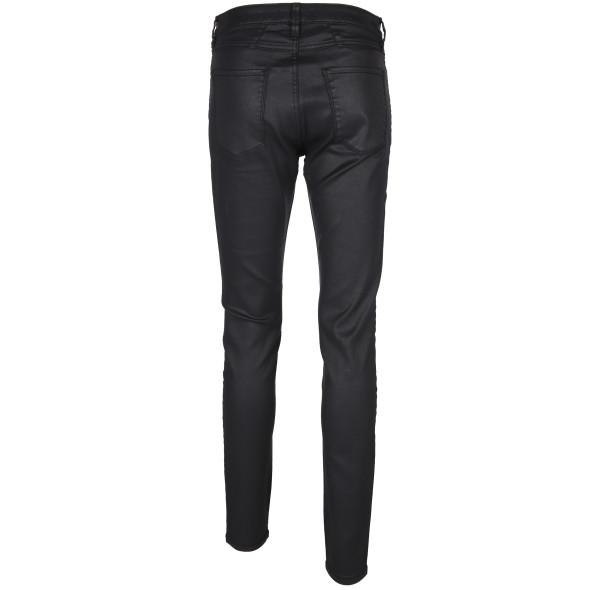 Damen Hose in Skinny Form mit leichtem Glanz