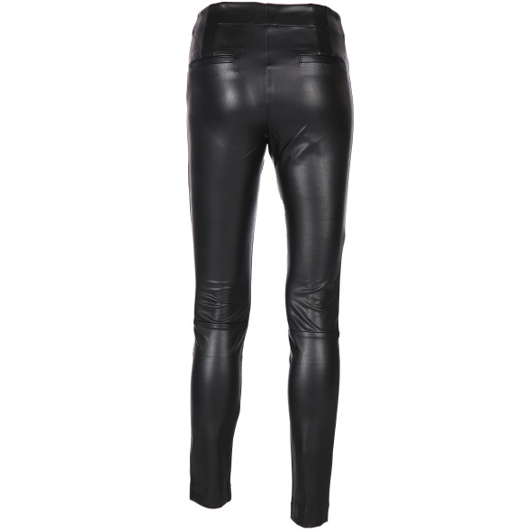 Damen Leggings in Leder-Optik