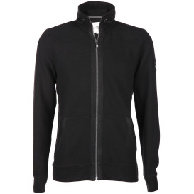 Herren Sweatjacke in Ripp-Optik