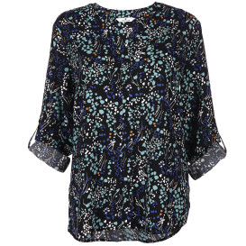 Damen Bluse mit Alloverprint