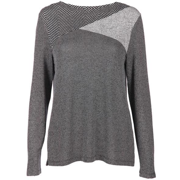 Damen Shirt im Mustermix