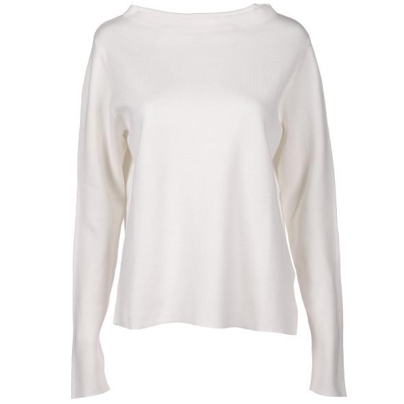 Damen Pullover in kastiger Form