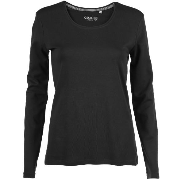Damen Shirt uni