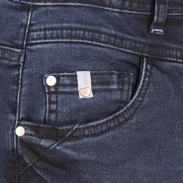 Damen Jeans mit angesetztem Bund