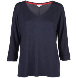 Damen Feinstrick Pullover mit 3/4 Arm