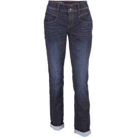 Damen Jeans mit doppeltem Knopf