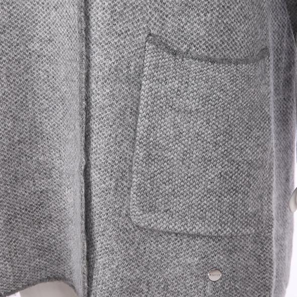 Damen Strickjacke mit Knöpfen