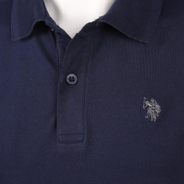 Herren Poloshirt mit langem Arm