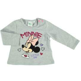 Baby Langarmshirt mit Mickey Mouse Print
