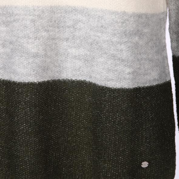 Damen Strickpullover mit Blockstreifen