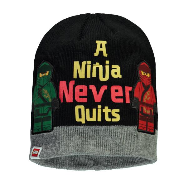 Jungen Mütze mit Ninja Appliaktion
