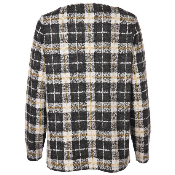 Damen Karo Sweater