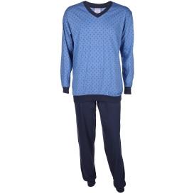 Herren Pyjama mit Punkten
