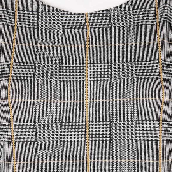 Damen Kleid mit Glencheck Muster