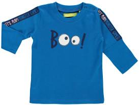 Baby Langarmshirt mit Print und Stickerei