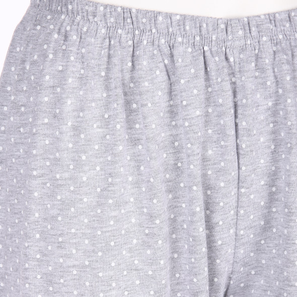 Damen Schlafhose mit Pünktchenprint