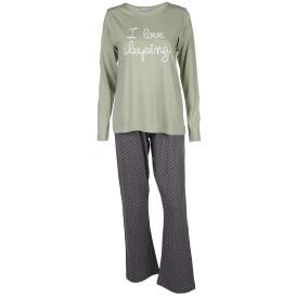 Damen Pyjama mit Punkten