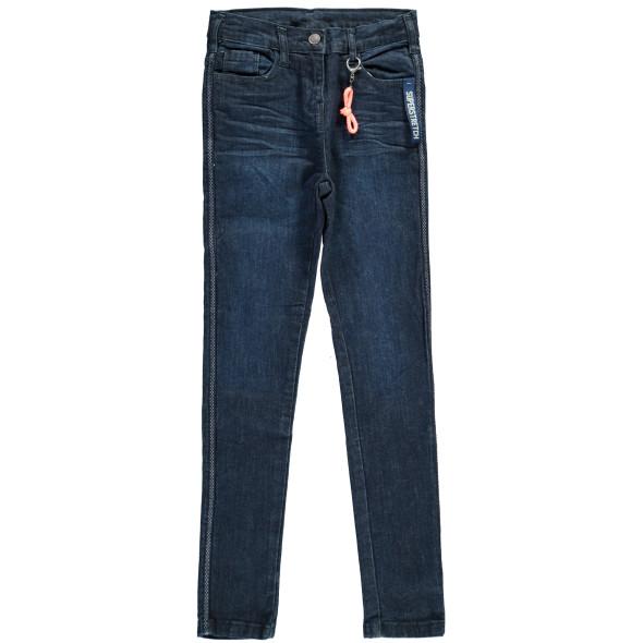 Mädchen Jeans mit Seitentap