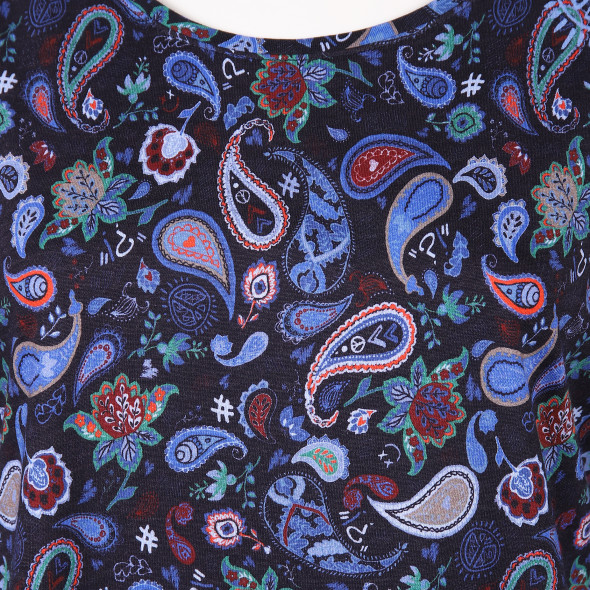 Damen Shirt im Paisleydesign