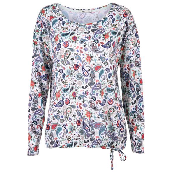 Damen Shirt im Paisleydesign