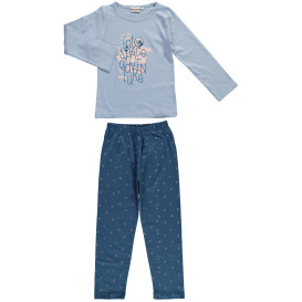 Mädchen Pyjama mit Print