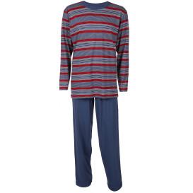 Herren Pyjama mit Streifen