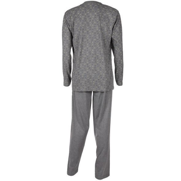 Herren Pyjama mit Alloverprint