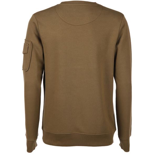 Herren Sweatshirt mit Ärmeltasche