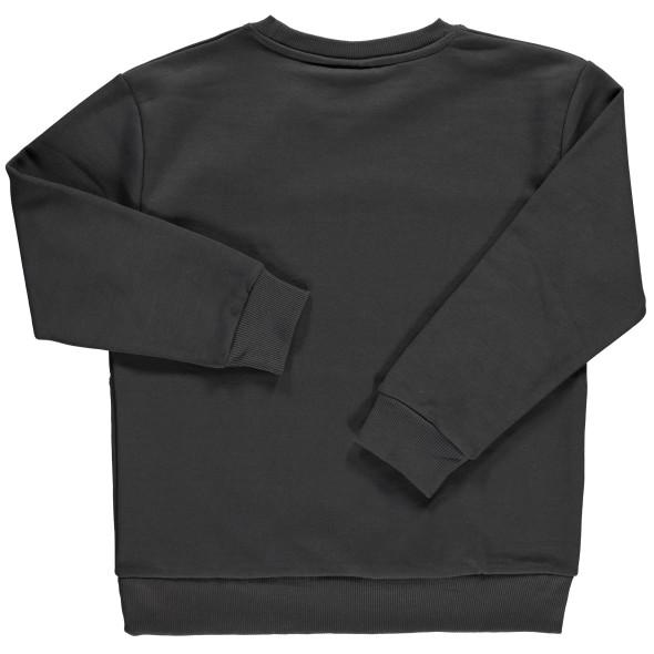 Jungen Sweatshirt mit Camouflage Einsatz