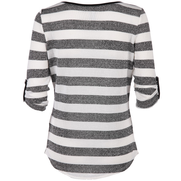 Hailys ELLE Shirt gestreift