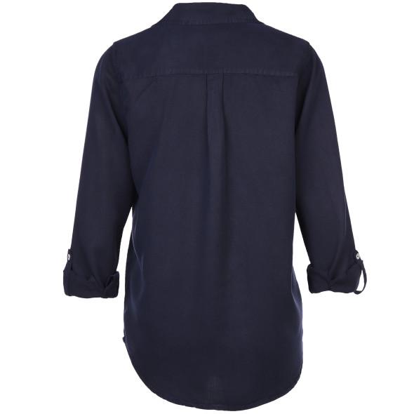 Damen Bluse mit V-Ausschnitt