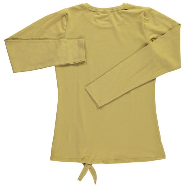 Mädchen Langarmshirt mit Glitzerschrift