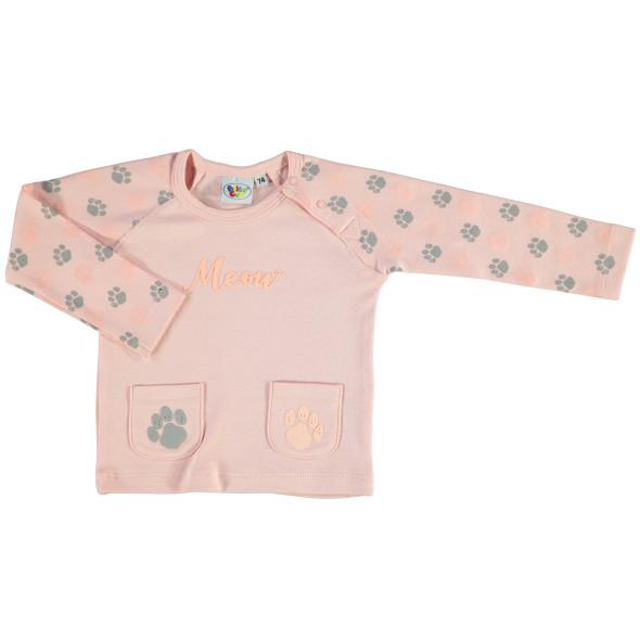 Baby Langarmshirt mit Print