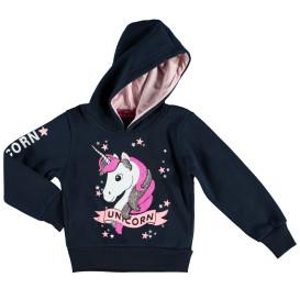 Mädchen Sweatshirt mit Paillettenbesatz