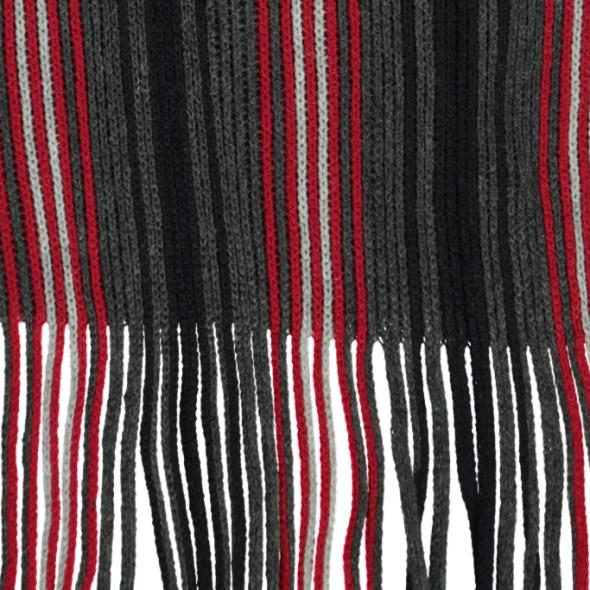 Herren Strickschal mit Streifen