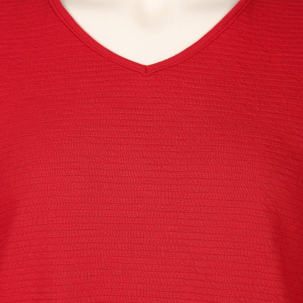Große Größen Sweatshirt mit 3/4 Arm