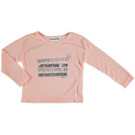 Mädchen Langarmshirt mit Glitzerprint
